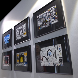 exhibitions drawings