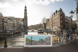 townscape amsterdam